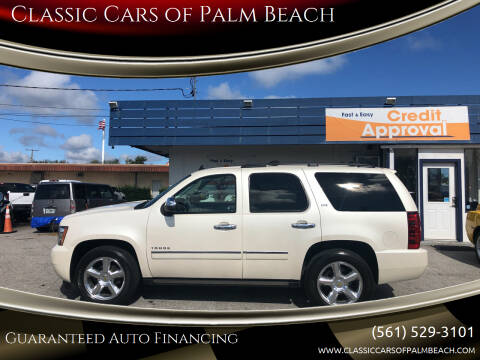 2011 Chevrolet Tahoe for sale at Classic Cars of Palm Beach in Jupiter FL
