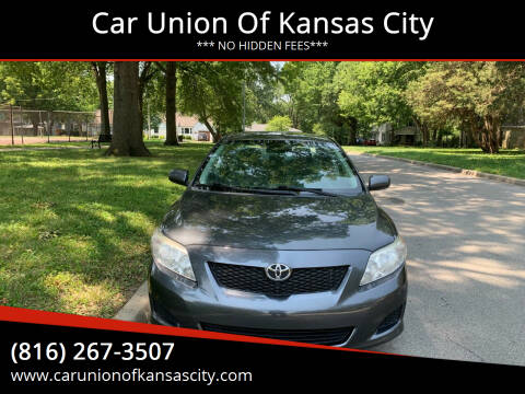 2009 Toyota Corolla for sale at Car Union Of Kansas City in Kansas City MO