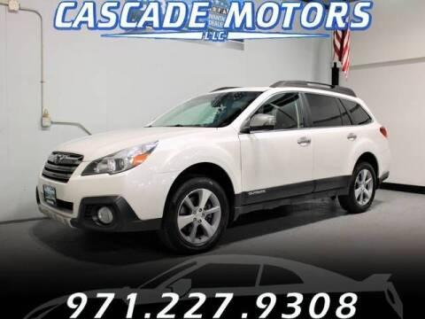 2013 Subaru Outback for sale at Cascade Motors in Portland OR