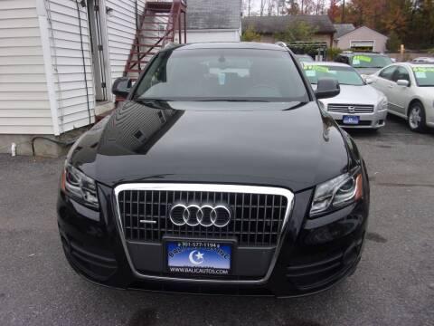 2012 Audi Q5 for sale at Balic Autos Inc in Lanham MD
