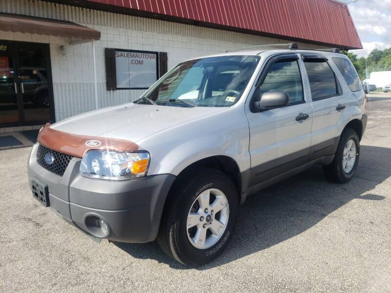 2006 Ford Escape for sale at Salem Auto Sales in Salem VA