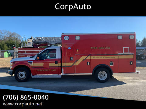 2008 Ford F-350 Super Duty for sale at CorpAuto in Cleveland GA