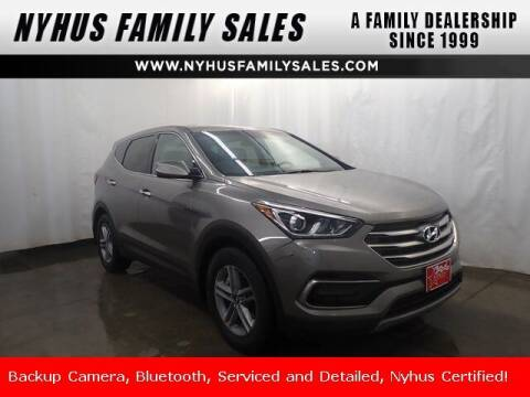2017 Hyundai Santa Fe Sport for sale at Nyhus Family Sales in Perham MN