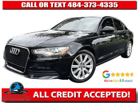 2014 Audi A6 for sale at World Class Auto Exchange in Lansdowne PA