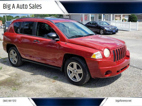2008 Jeep Compass for sale at Big A Auto Sales Lot 2 in Florence SC