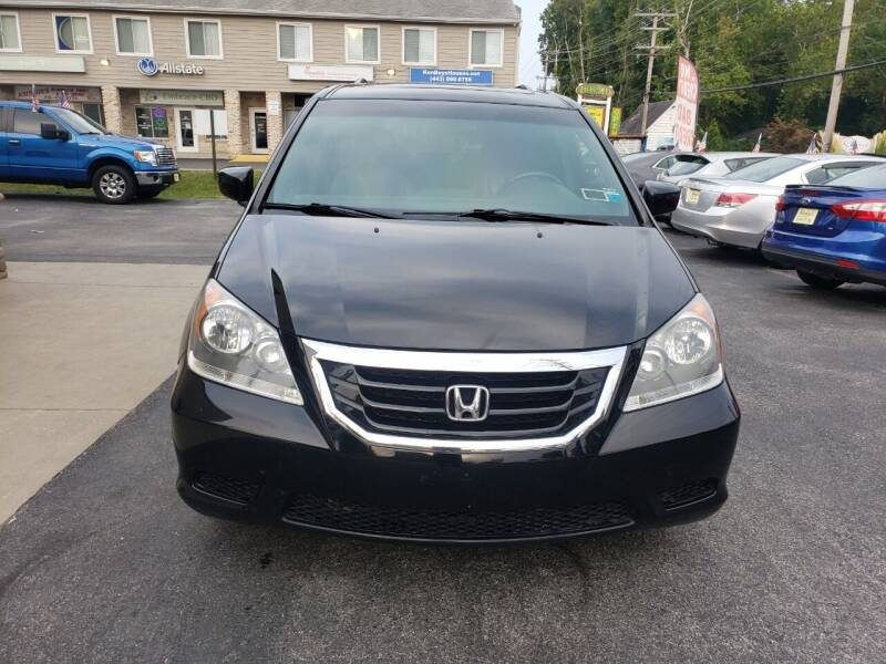 2010 Honda Odyssey for sale at Marley's Auto Sales in Pasadena MD