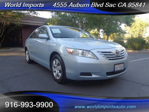 2008 Toyota Camry for sale at World Imports in Sacramento CA