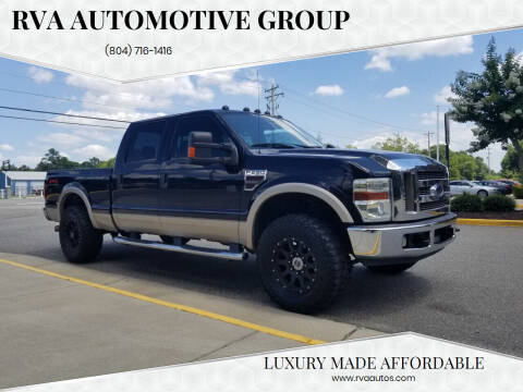 2008 Ford F-250 Super Duty for sale at RVA Automotive Group in North Chesterfield VA