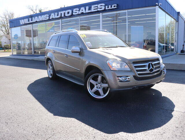 2009 Mercedes-Benz GL-Class for sale at Williams Auto Sales, LLC in Cookeville TN