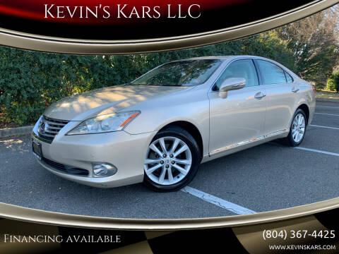 2010 Lexus ES 350 for sale at Kevin's Kars LLC in Richmond VA