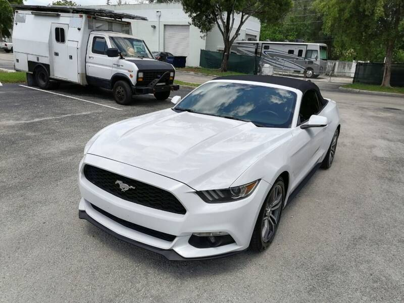 2017 Ford Mustang for sale at Best Price Car Dealer in Hallandale Beach FL