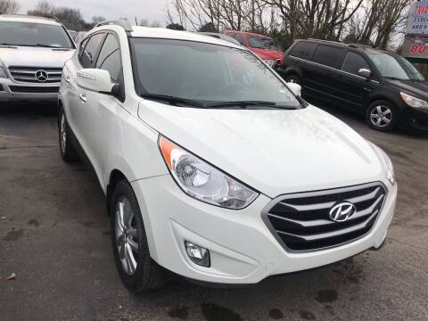 2012 Hyundai Tucson for sale at Tennessee Auto Brokers LLC in Murfreesboro TN