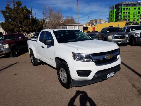 2016 Chevrolet Colorado for sale at BERKENKOTTER MOTORS in Brighton CO