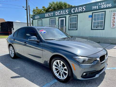 2016 BMW 3 Series for sale at Best Deals Cars Inc in Fort Myers FL