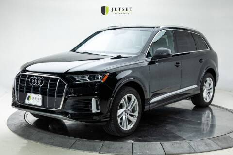 2020 Audi Q7 for sale at Jetset Automotive in Cedar Rapids IA