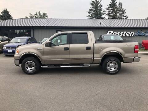 2006 Ford F-150 for sale at ROSSTEN AUTO SALES in Grand Forks ND