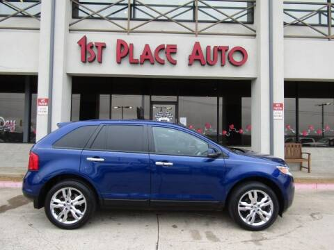 2013 Ford Edge for sale at First Place Auto Ctr Inc in Watauga TX
