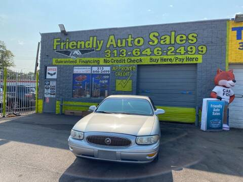 2001 Buick LeSabre for sale at Friendly Auto Sales in Detroit MI