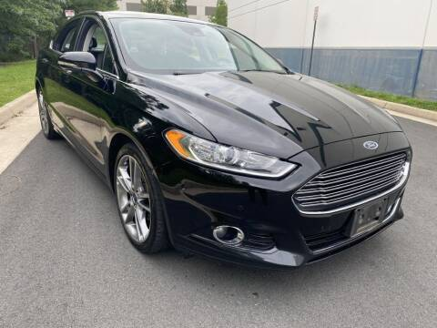 2016 Ford Fusion for sale at PM Auto Group LLC in Chantilly VA