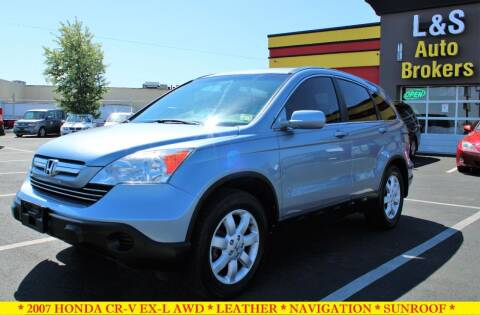 2007 Honda CR-V for sale at L & S AUTO BROKERS in Fredericksburg VA