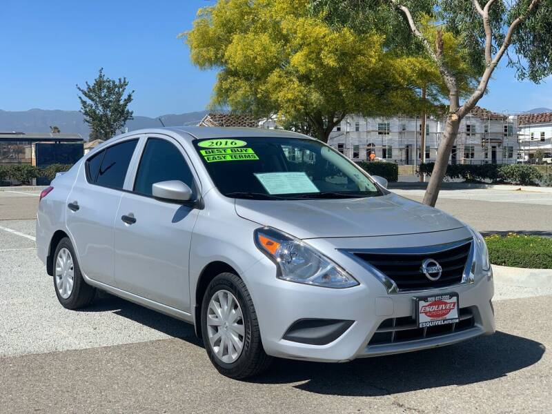 2016 Nissan Versa for sale at Esquivel Auto Depot in Rialto CA