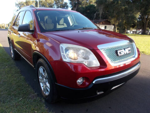 2012 GMC Acadia for sale at LANCASTER'S AUTO SALES INC in Fruitland Park FL