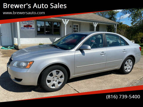2008 Hyundai Sonata for sale at Brewer's Auto Sales in Greenwood MO