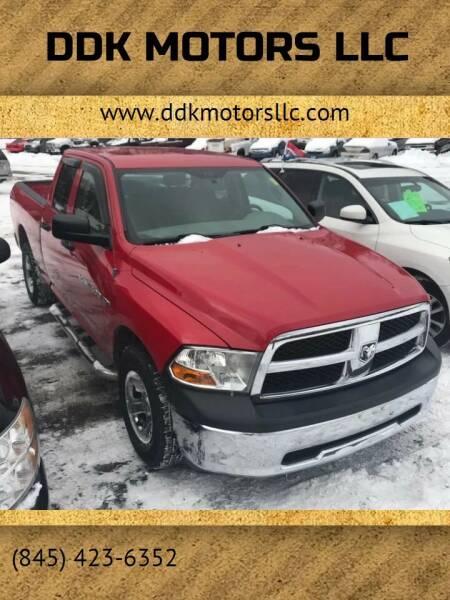 2012 RAM Ram Pickup 1500 for sale at DDK Motors LLC in Rock Hill NY