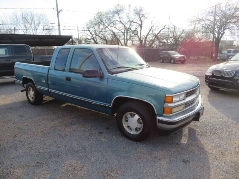 1997 Chevrolet C/K 1500 Series for sale at The Car Shack in Corpus Christi TX