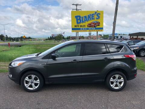 2016 Ford Escape for sale at Blake's Auto Sales in Rice Lake WI