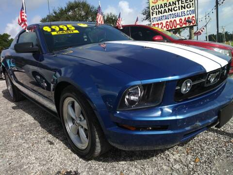 2007 Ford Mustang for sale at AFFORDABLE AUTO SALES OF STUART in Stuart FL