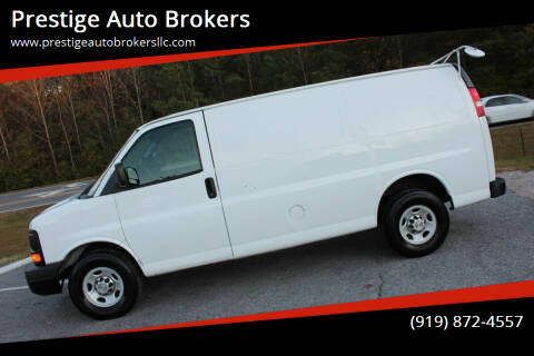 2012 Chevrolet Express Cargo for sale at Prestige Auto Brokers in Raleigh NC