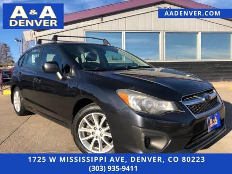 2013 Subaru Impreza for sale at A & A AUTO LLC in Denver CO
