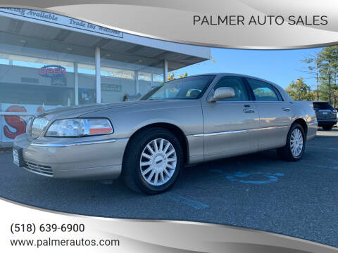 2005 Lincoln Town Car for sale at Palmer Auto Sales in Menands NY