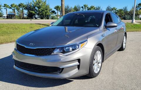 2018 Kia Optima for sale at FLORIDA USED CARS INC in Fort Myers FL