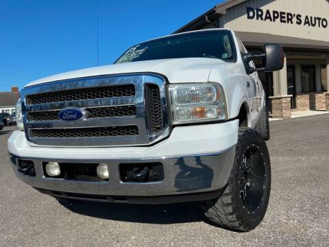 2005 Ford F-250 Super Duty for sale at Drapers Auto Sales in Peru IN