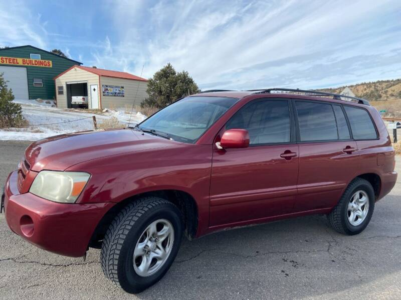 2005 Toyota Highlander for sale at Skyway Auto INC in Durango CO
