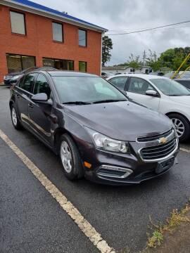 2016 Chevrolet Cruze Limited for sale at Credit Cars LLC in Lawrenceville GA