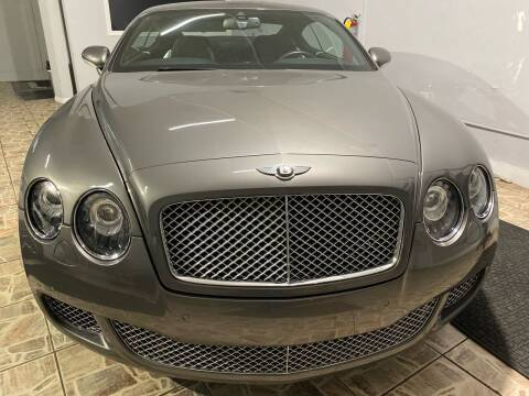 2008 Bentley Continental for sale at TOP SHELF AUTOMOTIVE in Newark NJ