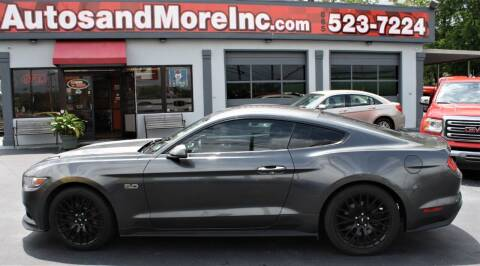 2015 Ford Mustang for sale at Autos and More Inc in Knoxville TN