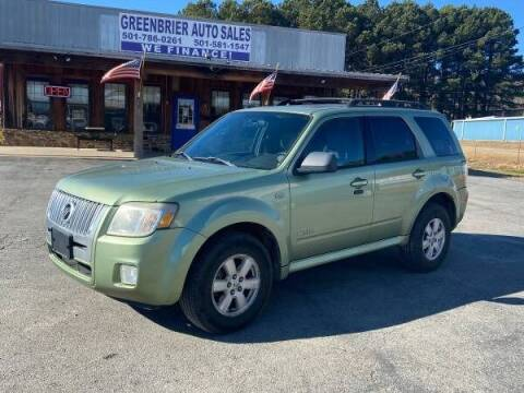 2008 Mercury Mariner for sale at Greenbrier Auto Sales in Greenbrier AR