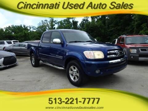 2006 Toyota Tundra for sale at Cincinnati Used Auto Sales in Cincinnati OH