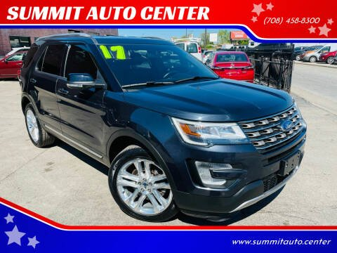 2017 Ford Explorer for sale at SUMMIT AUTO CENTER in Summit IL