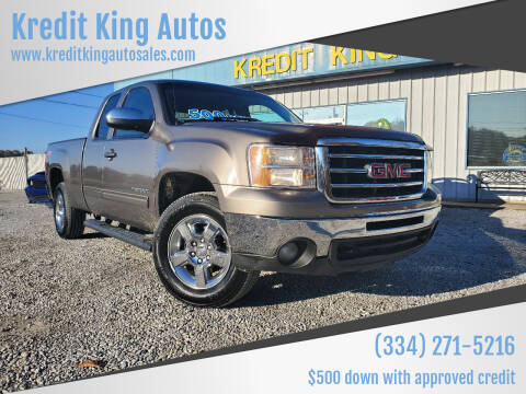 2012 GMC Sierra 1500 for sale at Kredit King Autos in Montgomery AL