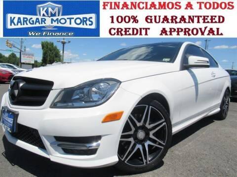 2015 Mercedes-Benz C-Class for sale at Kargar Motors of Manassas in Manassas VA