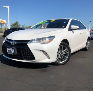 2015 Toyota Camry for sale at LUGO AUTO GROUP in Sacramento CA