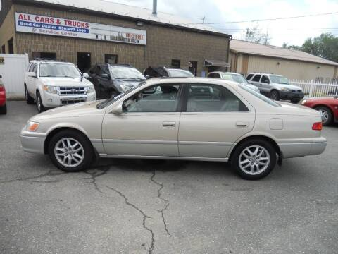 2001 Toyota Camry for sale at All Cars and Trucks in Buena NJ