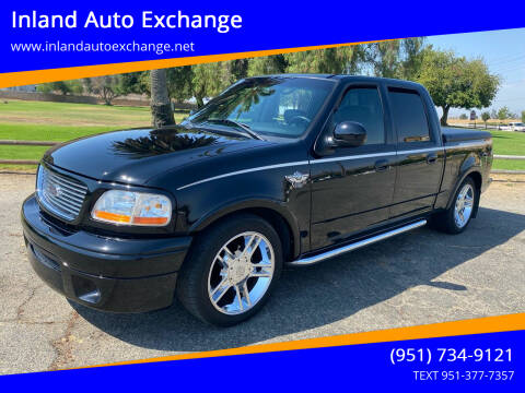 2003 Ford F-150 for sale at Inland Auto Exchange in Norco CA