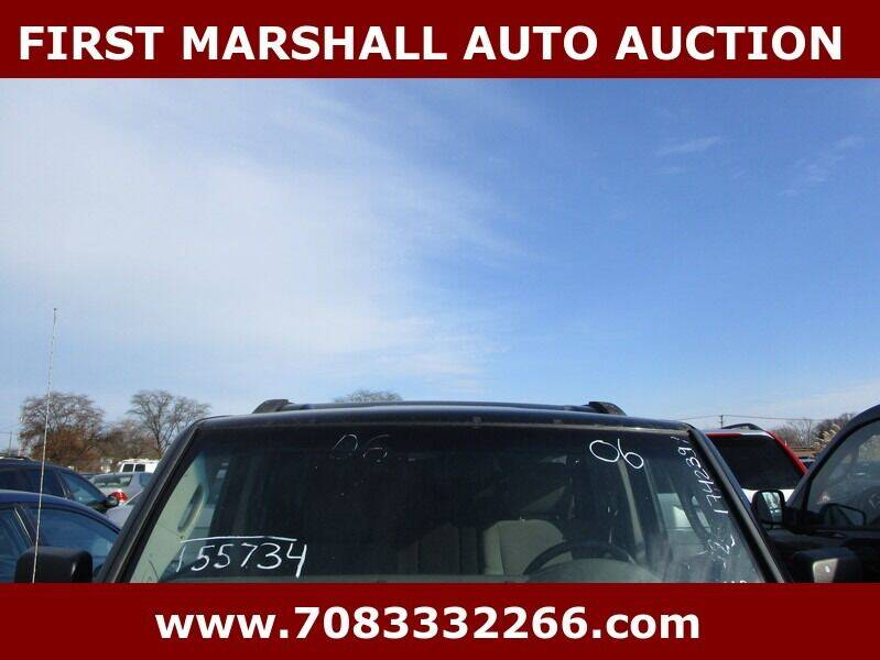 2006 Jeep Commander for sale at First Marshall Auto Auction in Harvey IL