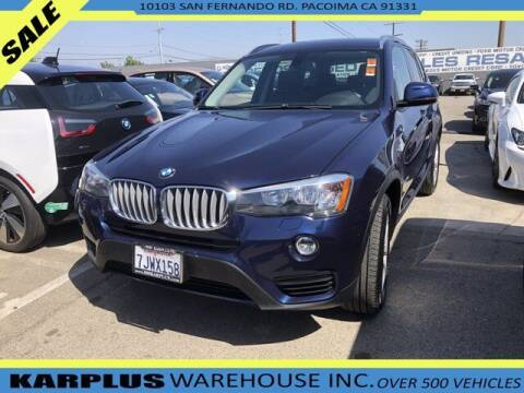 2015 BMW X3 for sale at Karplus Warehouse in Pacoima CA